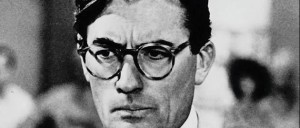 The lone crusader: Gregory Peck as Atticus Finch
