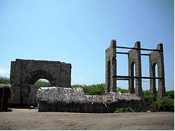 What remains of Dhanushkodi railway station today