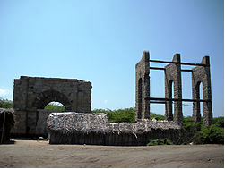 What remains of Dhanushkodi railway station today