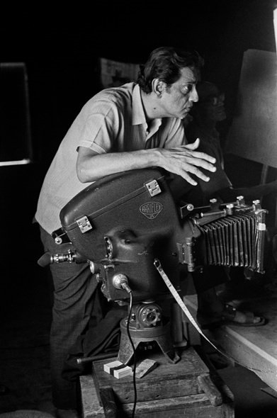 Ray with his Arriflex